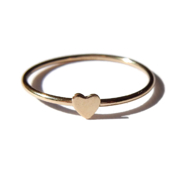 Gnoes | Ring hartje gold filled