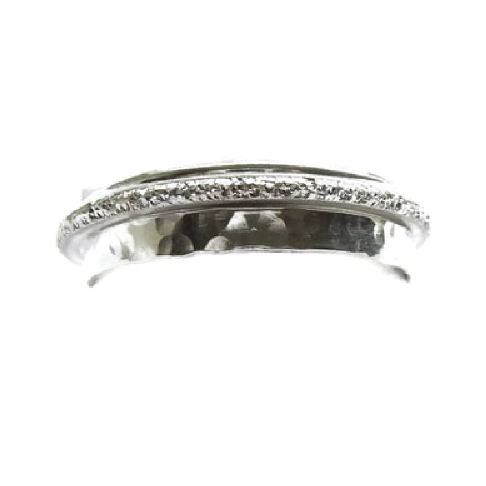 Ring donkere parel sterling zilver | Gnoes