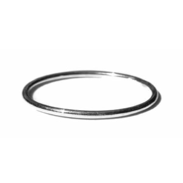 Gnoes Ring glad sterling zilver