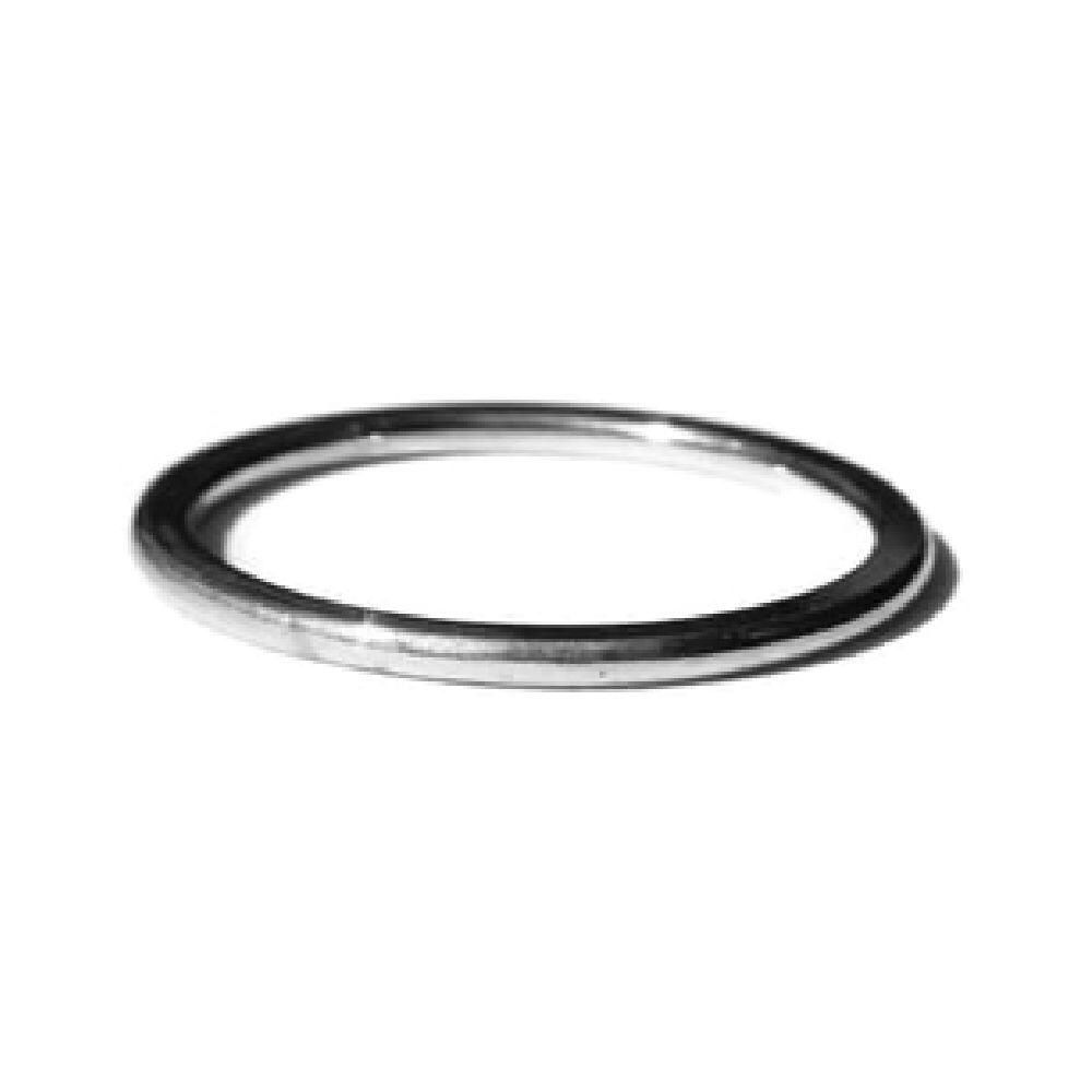 Ring plat en glad sterling zilver | Gnoes