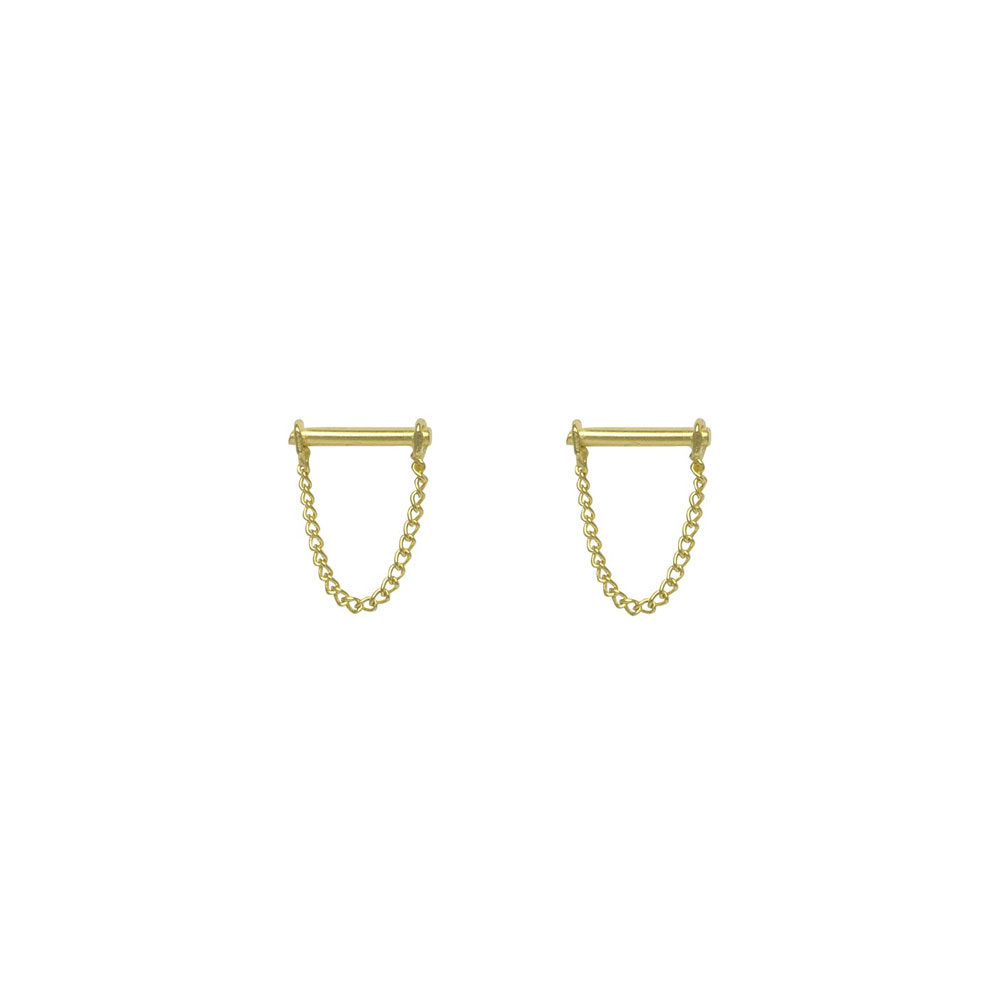 Chain earring | FLAWED