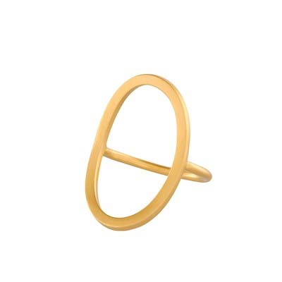 Berlin Ring gold plated | Pernille Corydon