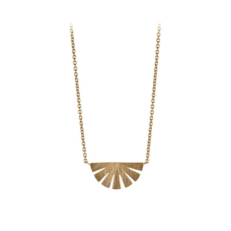 Dawn Necklace gold plated | Pernille Corydon