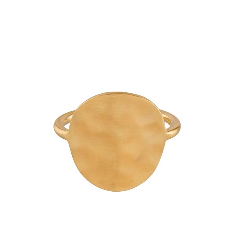 Dublin Ring gold plated | Pernille Corydon