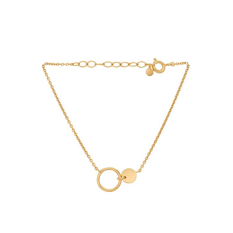 Eon Bracelet gold plated | Pernille Corydon