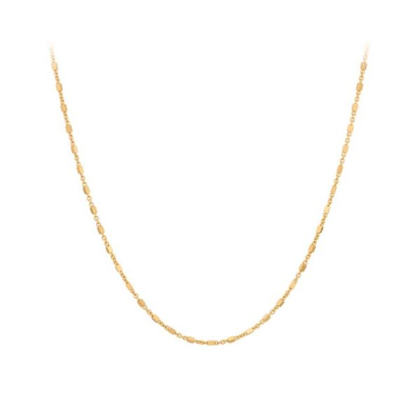 Thea Necklace gold plated | Pernille Corydon