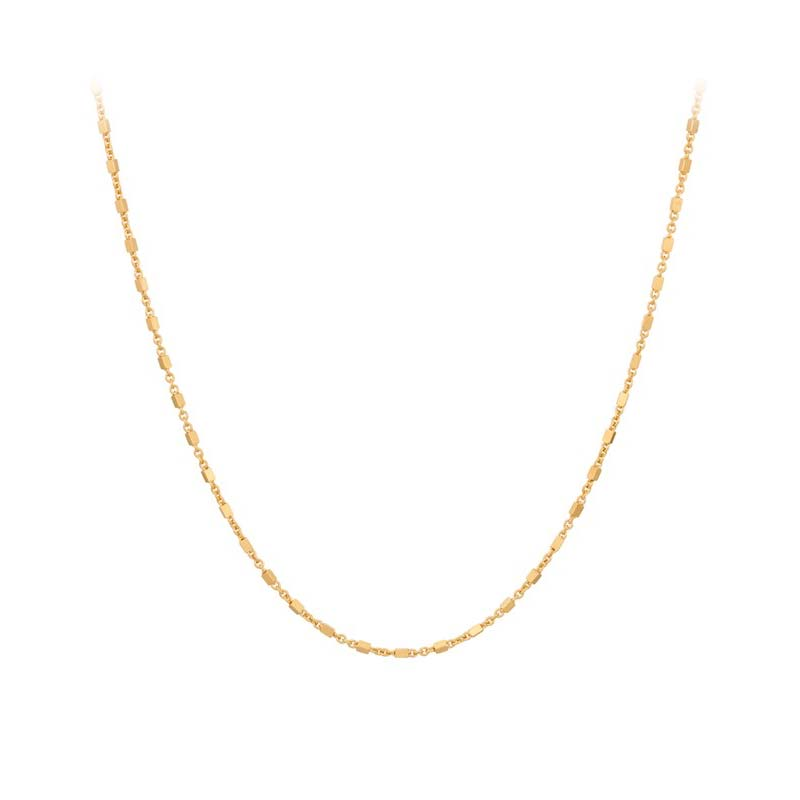 Thea Necklace gold plated   Pernille Corydon