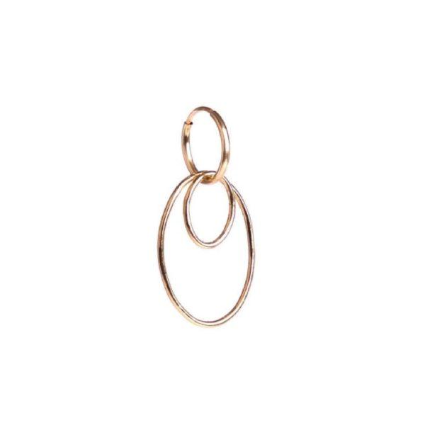 Oval Hoops Earring   ÆVA Amsterdam