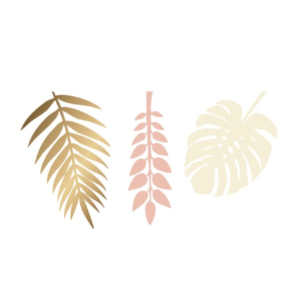 Delight Department gold peach decoration leaves